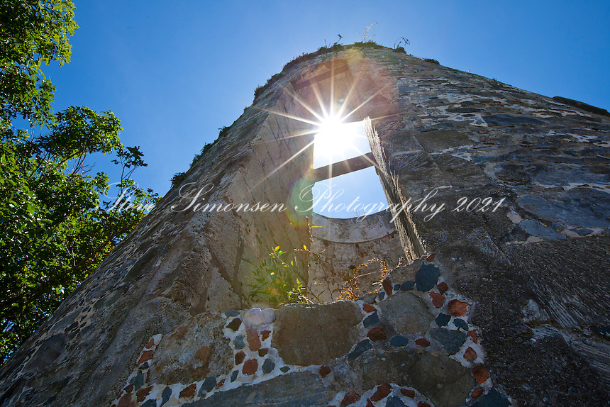 Annaberg sugar plantation  ruins St. John Virgin Islands national Park US Virgin Islands