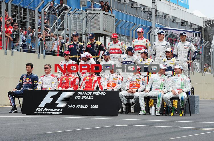 F1 Drivers 2008