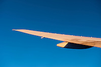 Commercial Airplane, Wing Tip, Close up