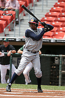 Toledo Mudhens Tike Redman during an International League game at Dunn Tire Park on June 8, 2006 in Buffalo, New York.  (Mike Janes/Four Seam Images)