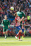 Atletico de Madrid's Saul Niguez and Real Betis's N'Diaye during BBVA La Liga match. April 02,2016. (ALTERPHOTOS/Borja B.Hojas)