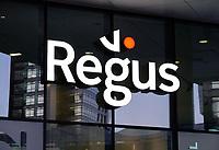 Nederland Amsterdam 2018. Kantoren op de Zuidas. Regus plc is een multinationale onderneming op het gebied van kantoorverhuur.  Foto Berlinda van Dam / Hollandse Hoogte