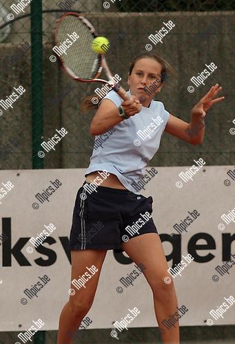2008-09-07 / Tennis / Feest van de jeugd 2008 / Evy Van Genechten..Foto: Maarten Straetemans (SMB)