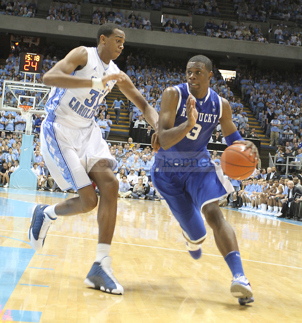 Terrence Jones playing in the game against North Carolina on Dec. 4, 2010 at the Dean Smith Center.  Photo by Latara Appleby | Staff