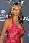 SANTA MONICA, CA. - September 13: Actress Natasha Henstridge arrives at the 4th Annual Pink Party at Barker Hanger on September 13, 2008 in Santa Monica, California.