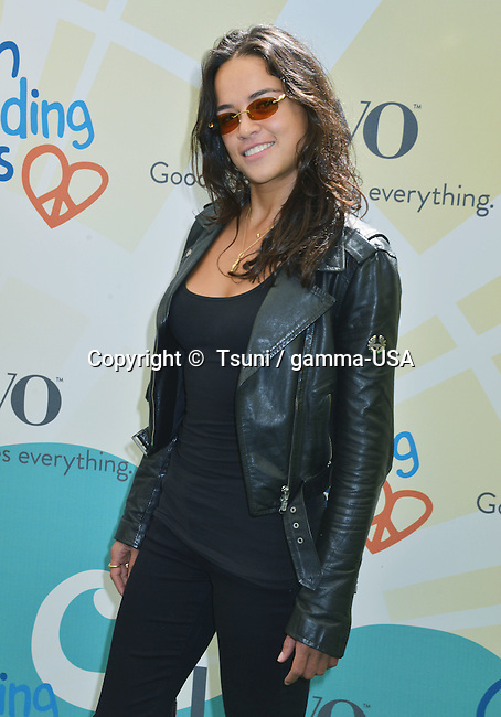 Michelle Rodriguez  at the Children Mending Hearts - 2014 in a Private residence in Beverly Hills.