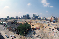 1997 July 08..Redevelopment..Macarthur Center.Downtown North (R-8)..LOOKING SOUTH.FROM FREEMASON GARAGE.SUPERWIDE...NEG#.NRHA#..