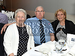 Michael and Patsy McQuillan and Imelda McCann at Canon Patsy McDonnell's function to celebrate his 60 years in the priesthood in The Westcourt hotel. Photo:Colin Bell/pressphotos.ie
