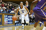 19 December 2013: Duke's Chloe Wells. The Duke University Blue Devils played the University at Albany, The State University of New York Great Danes at Cameron Indoor Stadium in Durham, North Carolina in a 2013-14 NCAA Division I Women's Basketball game. Duke won the game 80-51.