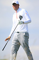 Sean Towndrow (ENG) during the Home Internationals day 2 foursomes matches supported by Fairstone Financial Management Ltd. at Royal Portrush Golf Club, Portrush, Co.Antrim, Ireland.  13/08/2015.<br /> Picture: Golffile   Fran Caffrey<br /> <br /> <br /> All photo usage must carry mandatory copyright credit (© Golffile   Fran Caffrey)