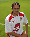 Robbie Sinclair of Stevenage at the Stevenage FC team photo shoot at The Lamex Stadium, Broadhall Way, Stevenage on Saturday, 24th July, 2010.© Kevin Coleman 2010