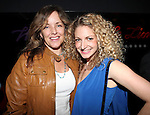 Alice Ripley and Lauren Molina attend the opening night performance reception for the Keen Company production of Marry Me A Little at the Clurman Theatre in New York City on10/2/2012.