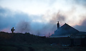"31/03/16<br /> <br /> Four children had a lucky escape this morning, after a shed caught fire and spread to nearby barns on a farm near Britain's highest village in Staffordshire.<br /> The youngsters were treated from smoke inhalation after an early-morning blaze at Summerhill Farm, in Flash, a remote village on the Staffordshire Moorlands.<br /> Three fire crews from Staffordshire, plus one from Derbyshire, were called to the incident, which was reported at around 5.42am.<br /> A spokeswoman for Staffordshire Fire and Rescue Service said the barns were ""well ablaze"" and that a water carrier was also sent to help.<br />  She said: ""The fire involved a shed which was attached to a brick building and crews worked to prevent it spreading further into the residential area. <br /> ""A caravan was also on fire.""<br /> <br /> All Rights Reserved: F Stop Press Ltd. +44(0)1335 418365   www.fstoppress.com."
