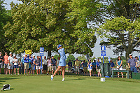 Lexi Thompson (USA) watches her tee shot on 8 during round 4 of the 2018 KPMG Women's PGA Championship, Kemper Lakes Golf Club, at Kildeer, Illinois, USA. 7/1/2018.<br /> Picture: Golffile | Ken Murray<br /> <br /> All photo usage must carry mandatory copyright credit (&copy; Golffile | Ken Murray)