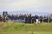 Lucas Bjerregaard (DEN) on the 15th tee during Round 4 of the Alfred Dunhill Links Championship 2019 at St. Andrews Golf CLub, Fife, Scotland. 29/09/2019.<br /> Picture Thos Caffrey / Golffile.ie<br /> <br /> All photo usage must carry mandatory copyright credit (© Golffile | Thos Caffrey)