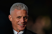 Northampton Town manager Keith Curle<br /> <br /> Photographer Chris Vaughan/CameraSport<br /> <br /> Emirates FA Cup First Round - Lincoln City v Northampton Town - Saturday 10th November 2018 - Sincil Bank - Lincoln<br />  <br /> World Copyright © 2018 CameraSport. All rights reserved. 43 Linden Ave. Countesthorpe. Leicester. England. LE8 5PG - Tel: +44 (0) 116 277 4147 - admin@camerasport.com - www.camerasport.com