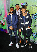 "01 August 2016 - New York, New York - Will Smith, Jaden Smith. ""Suicide Squad"" World Premiere. Photo Credit: Mario Santoro/AdMedia"