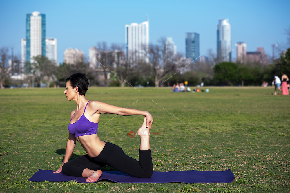Zilker, a unique park sits alongside Ladybird Lake and offers several miles of well-maintained hike and bike trails, large open fields for yoga meditation and a gorgeous view of the downtown skyline.
