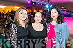 Angela, Hilary and Clara Brosnan, pictured at the Kerins O'Rahillys Strictly Come Dancing, held at the Brandon Hotel, Tralee on Saturday night last.