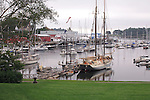 Harbor scene, Camden, Maine