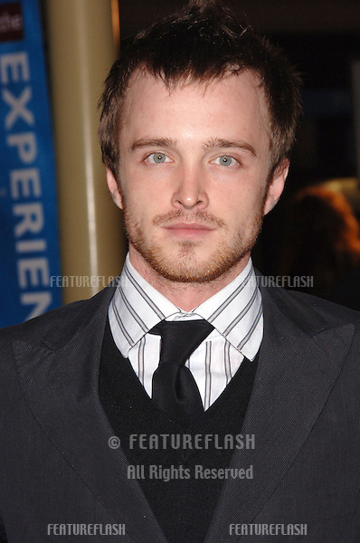 Actor AARON PAUL at the Los Angeles premiere of Standing Still..April 10, 2006 Los Angeles, CA.© 2006 Paul Smith / Featureflash