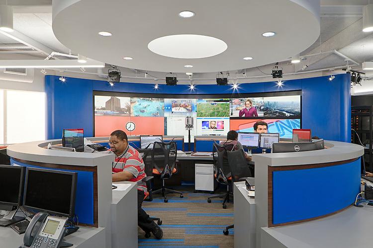 10TV WBNS Newsroom   Turner Construction