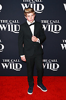 HOLLYWOOD, CA - FEBRUARY 13; Walker Bryant at The Call Of The Wild World Premiere on February 13, 2020 at El Capitan Theater in Hollywood, California. Credit: Tony Forte/MediaPunch