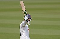 Ryan ten Doeschate of Essex celebrates scoring a century of runs during Surrey CCC vs Essex CCC, Specsavers County Championship Division 1 Cricket at the Kia Oval on 13th April 2019