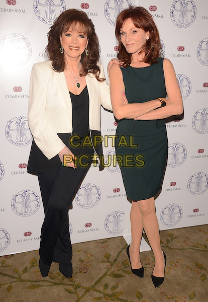 22 April 2014 - Los Angeles, California - Jackie Collins, Marilu Henner. Arrivals for the Women's Guild Cedars-Sinai Spring Luncheon held at the Beverly Hills Hotel in Beverly Hills, Ca. <br /> CAP/ADM/BT<br /> &copy;Birdie Thompson/AdMedia/Capital Pictures