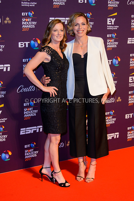 www.acepixs.com<br /> <br /> April 27 2017, London<br /> <br /> Helen Richardson-Walsh (L) and Kate Richardson-Walsh arriving at the BT Sport Industry Awards at Battersea Evolution on the 27th April 2017 at Battersea Evolution, London<br /> <br /> By Line: Famous/ACE Pictures<br /> <br /> <br /> ACE Pictures Inc<br /> Tel: 6467670430<br /> Email: info@acepixs.com<br /> www.acepixs.com