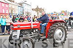 St Patricks Day Parade, Listowel: Taking part in the Listowel St.Patrick's Day parade in Listowel was John Hennessey from Rathea, Listowel with his Massey Ferguson 135.