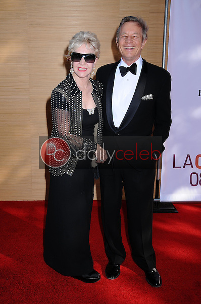 Michael York and wife Patricia<br />