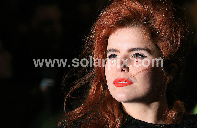 "**ALL ROUND PICTURES FROM SOLARPIX.COM**.**WORLDWIDE SYNDICATION RIGHTS**.The UK Premiere of ""The Imaginarium of Doctor Parnassus"" at the Empire Cinema in Leicester Square, London on Tuesday 6 October 2009.This pic:   Paloma Faith.JOB REF:  10074   LNJ     DATE:  07.10.09.**MUST CREDIT SOLARPIX.COM OR DOUBLE FEE WILL BE CHARGED**.**MUST NOTIFY SOLARPIX OF ONLINE USAGE**.**CALL US ON: +34 952 811 768 or LOW RATE FROM UK 0844 617 7637**"