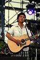 Singer Naotaro Moriyama performs during Jonetsu Tairiku Summer Live 2008. 9 August, 2008. (Taro Fujimoto/JapanToday/Nippon News)