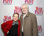 Tovah Feldshuh and Andrew H. Levy attends the Broadway Opening Night Performance of 'War Paint' at the Nederlander Theatre on April 6, 2017 in New York City