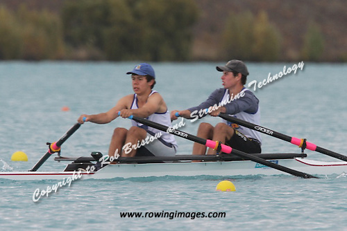 Wednesdays Repechages at the Maadi Cup Regatta 2012
