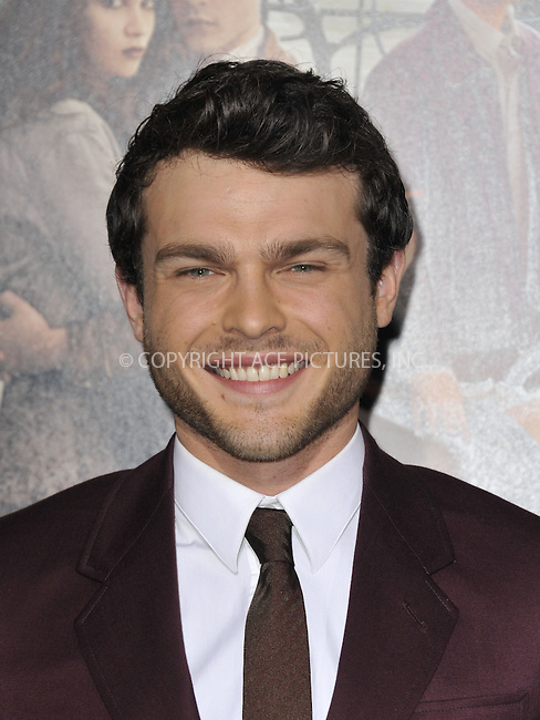 WWW.ACEPIXS.COM....February 6 2013, LA....Alden Ehrenreich arriving at the Los Angeles premiere of 'Beautiful Creatures' at TCL Chinese Theatre on February 6, 2013 in Hollywood, California.....By Line: Peter West/ACE Pictures......ACE Pictures, Inc...tel: 646 769 0430..Email: info@acepixs.com..www.acepixs.com