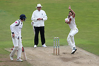 Ravi Bopara in bowling action for Essex during Warwickshire CCC vs Essex CCC, Specsavers County Championship Division 1 Cricket at Edgbaston Stadium on 11th September 2019