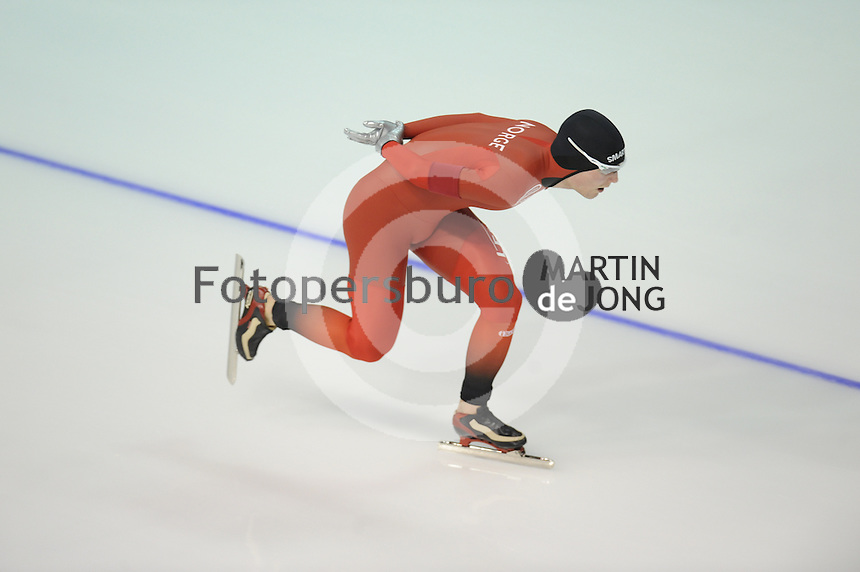 SPEEDSKATING: CALGARY: Olympic Oval, 07-03-2015, ISU World Championships Allround, 5000m Men, Sverre Lunde Pedersen (NOR), ©foto Martin de Jong