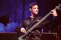 Stefan Lessard (Bass Guitar) of Dave Matthews Live in ROME at the Palalottomatica Arena, ROME, Italy on 20 October 2015. Photo by Valeria  Magri.