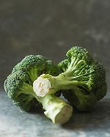 Gastronomie Générale/  Brocoli, bio  Brassica oleracea va // Organic Brocoli