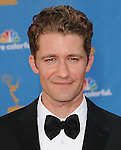 Matthew Morrison ..  at The 62nd Anual Primetime Emmy Awards held at Nokia Theatre L.A. Live in Los Angeles, California on August 29,2010                                                                   Copyright 2010  DVS / RockinExposures