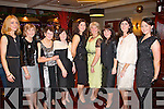 Pictured at the Devon Inn Christmas Party last Saturday night were, L-R : Noreen  and Joan Doherty of Castlemahon, Eileen Mulcahy, Christina O'Connor both of Tournafulla, Orla O'Keefe of Athea, Mary King of Monagea, Mary Quehoe of Tournafulla, Margaret Doherty of Castlemahon and Jane Tyne of Kildare. All Members of the one family out for christmas.