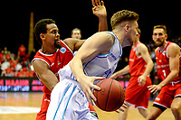 GRONINGEN - Basketbal, Donar - Spirou Basket, Martiniplaza, Europe Cup, seizoen 2018-2019, 20-11-2018, Donar speler Thomas Koenes
