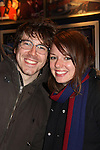 Guiding Light - Aubrey Dollar & boyfriend John Gallagher, Jr. - Opening Night of Broadway's Good People on March 3, 2011 at the Samuel J. Friedman Theatre, New York City, New York with the after party was at B.B. Kings, NYC. (Photo by Sue Coflin/Max Photos)