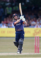 Adam Wheater hits 6 runs for Essex during Essex Eagles vs Middlesex, Vitality Blast T20 Cricket at The Cloudfm County Ground on 6th July 2018