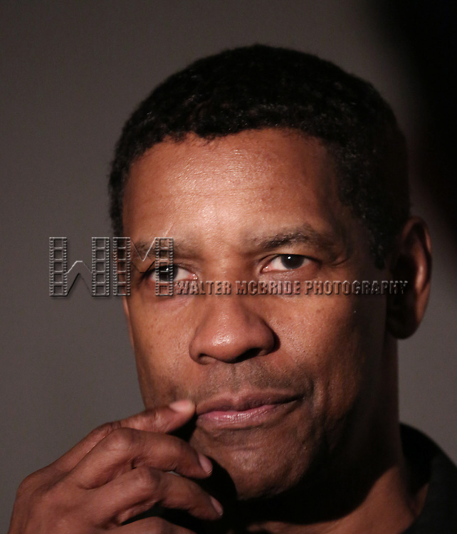 "Denzel Washington attends the Broadway Opening Night After Party for  ""A Raisin In The Sun"" at Tribeca Rooftop on April 3, 2014 in New York City."