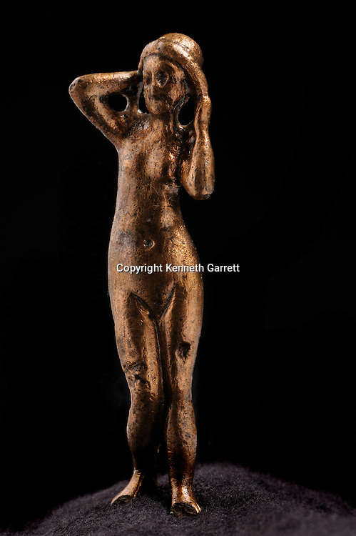 Cleopatra, The Search for the Last Queen of Egypt, Exhibit Catalog, page 204, Cleopatra Exhibit, Egypt, Taposiris Magna, Bronze, Goddess, Aphrodite