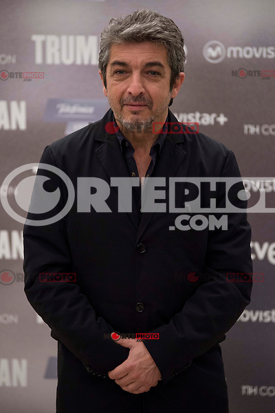 """Argentinian actor Ricardo Darin during the presentation of the film """"Truman"""" at NH Tepa´s Palace in Madrid October 26, 2015. <br /> (ALTERPHOTOS/BorjaB.Hojas) /NortePhoto"""