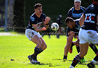 Action from the 2017 1st XV rugby Top Four co-ed final between St Peter's School Cambridge and Feilding High School at Sport and Rugby Institute in Palmerston North, New Zealand on Sunday, 10 September 2017. Photo: Dave Lintott / lintottphoto.co.nz